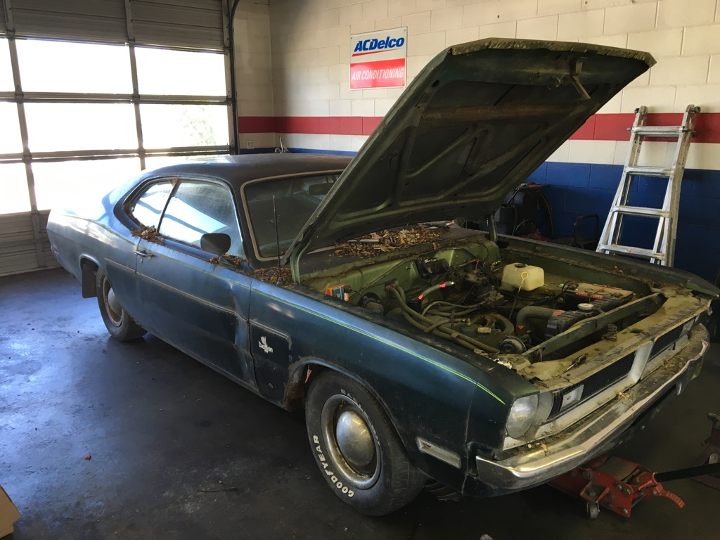 Getting a 1971 Dodge Demon back on the road