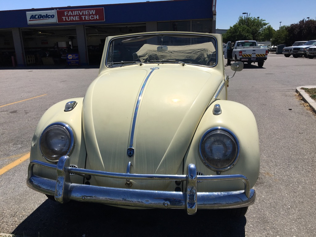 1962 VW Beetle brought back to life